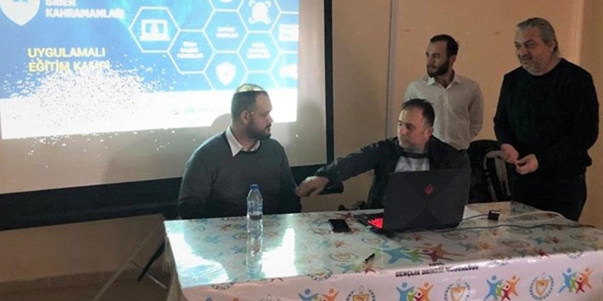 Kıbrıs'ın siber kahramanları eğitim kampı tamamlandı