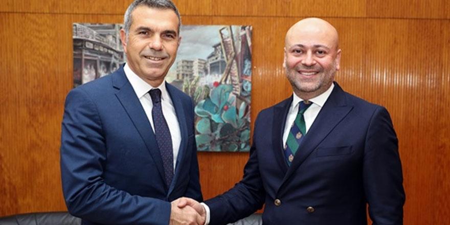 Uluçay, Doha Temsilciliği'ne atanan Güven'i kabul etti
