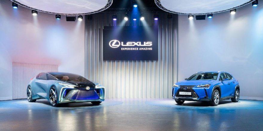 Lexus Cenevre'de üçleyecek