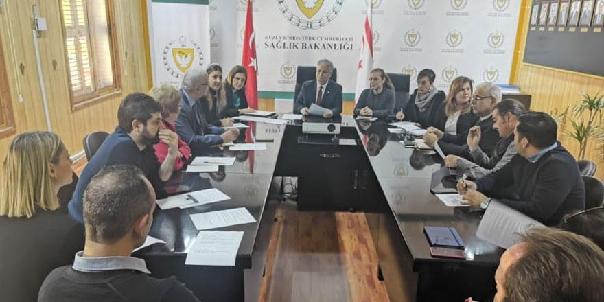 Sağlık Bakanlığı'nda üniversiteler ile bilgilendirme toplantısı gerçekleştirildi
