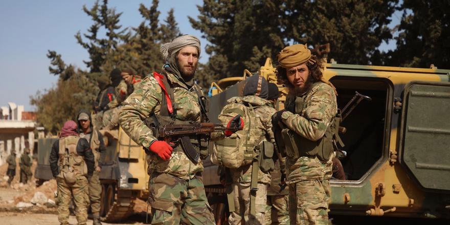 Suriye Milli Ordusu Serakib'i geri aldı