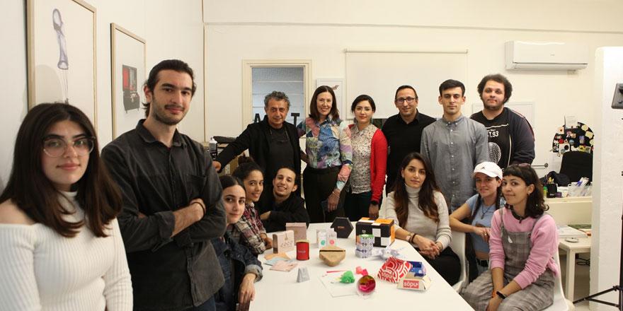DAÜ Görsel Sanatlar Ve Görsel Iletişim Tasarimi Bölümü Ginette Caron'u Ağirladi