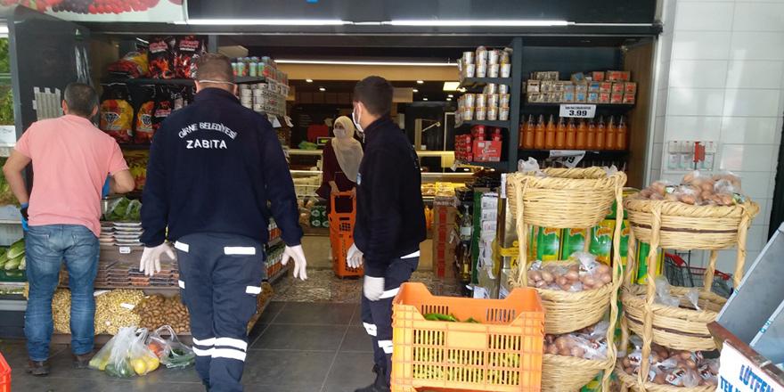 Girne'de market denetimleri artırıldı