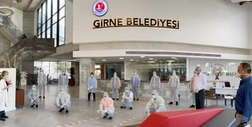 Girne Belediyesi'nde İş Sağlığı Güvenliği ve Eğitimi çalışmaları devam ediyor