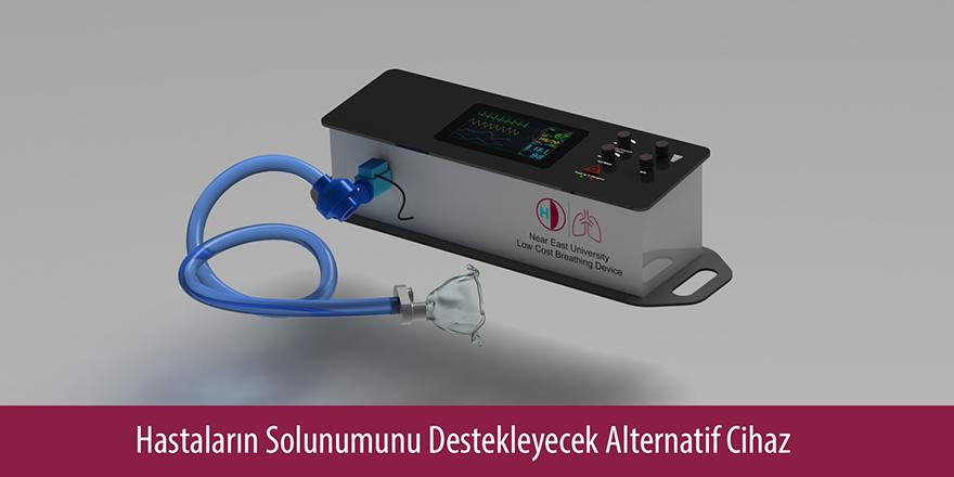 Yakın Doğu Üniversitesi alternatif solunum cihazı üretti