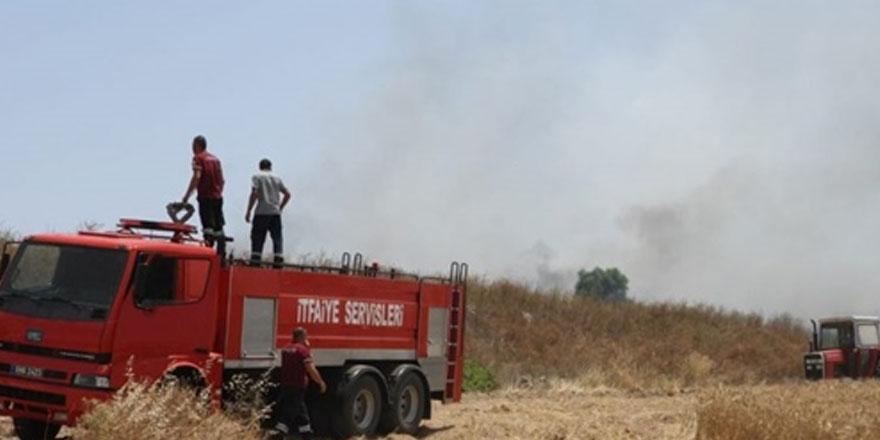 Serdarlı'daki  yangınla ilgili  1 kişi  tutuklandı