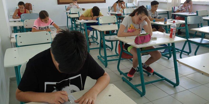 YDK Burs Sıralama, Seviye Tespit ve Giriş Sınavı yapıldı