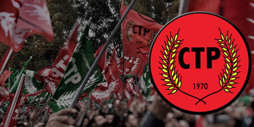 CTP'de şok istifa!