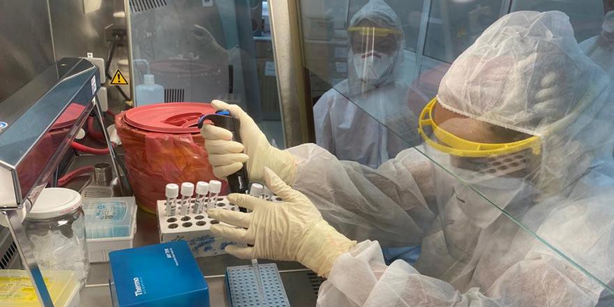 YDÜ'den Korona Virüse karşı umut veren proje...