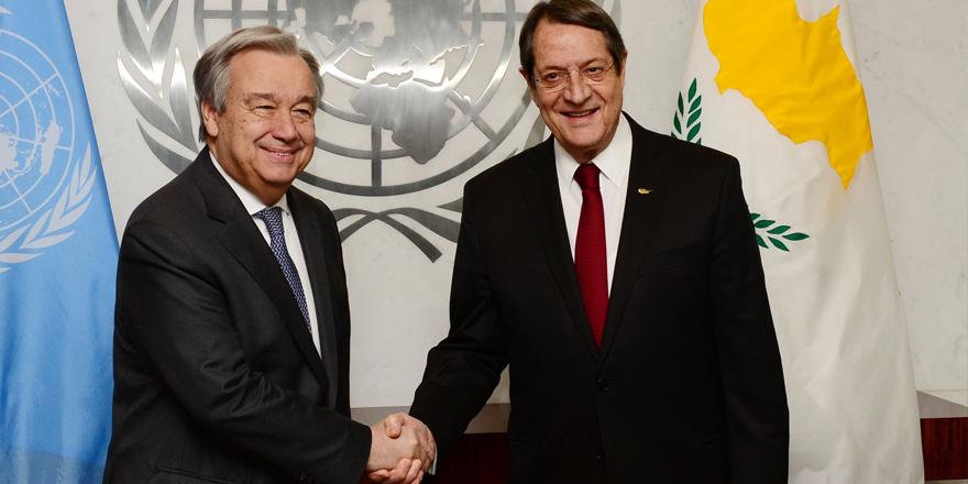 Anastasiadis: Kıbrıs müzakerelerine başlamaya hazırım