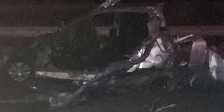 Güzelyurt yolunda feci kaza: 2 ölü