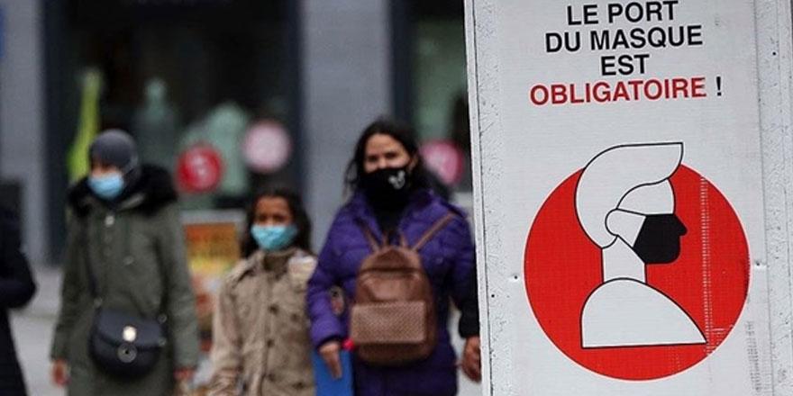 Avrupa'da kovid-19 salgınında en fazla bulaşma Belçika'da