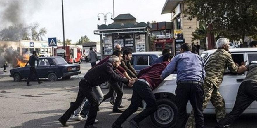 Ermenistan'ın berde şehir merkezine düzenlediği saldırıda 14 sivil hayatını kaybetti