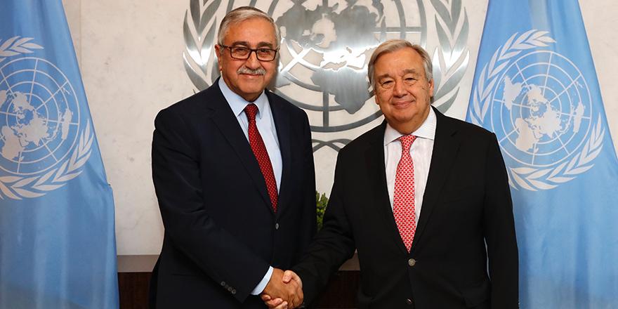 Guterres, Akıncı'ya teşekkür etti