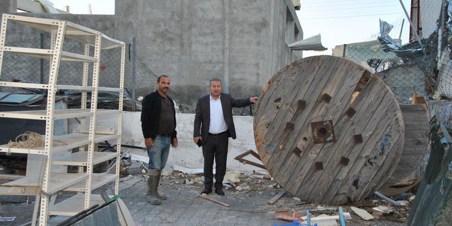 Sanayi Odası Çatalköy sanayi bölgesini ziyaret etti, afet zararlarıyla ilgili bilgi aldı