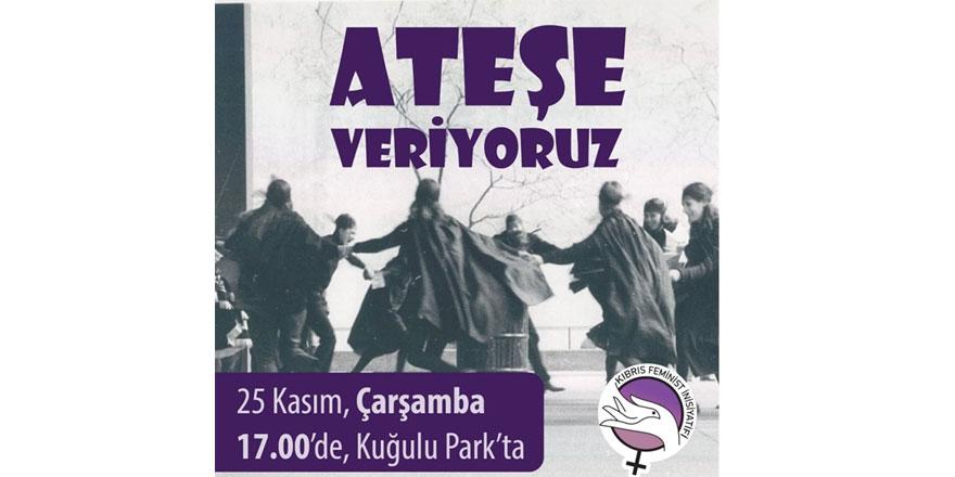 Kıbrıs Feminist İnisiyatifi yarın dayanışma eylemi yapıyor