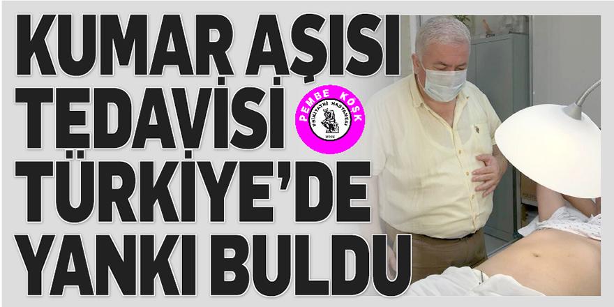 Kumar aşısı tedavisi Türkiye'de yankı buldu
