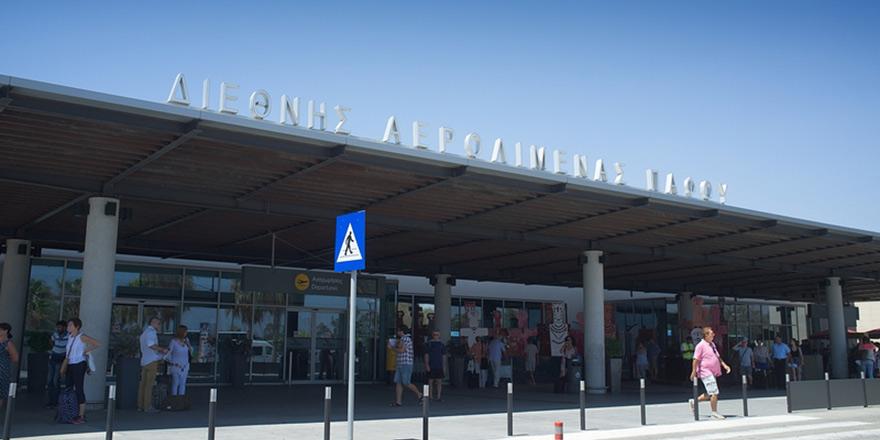 Baf Havaalanı'nda uçuşlar durdu