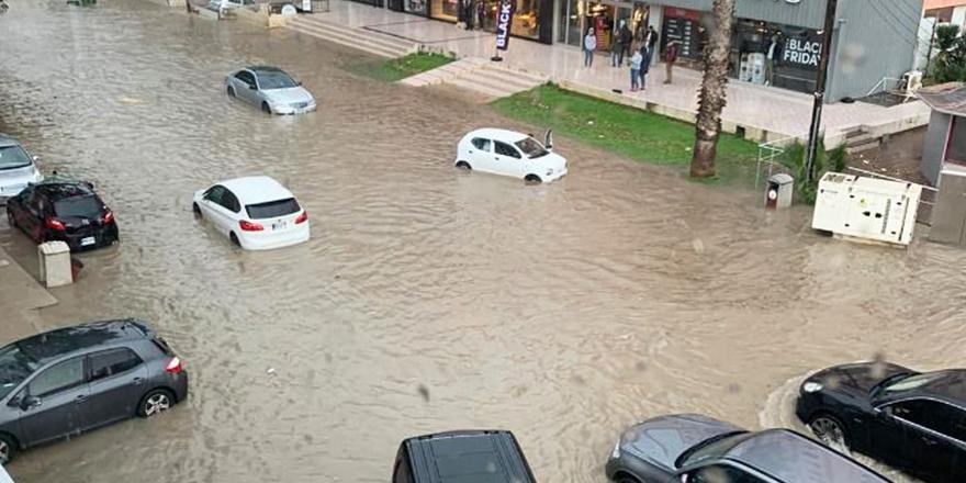 Mağusa'da metrekareye 85 kilogram yağış düştü