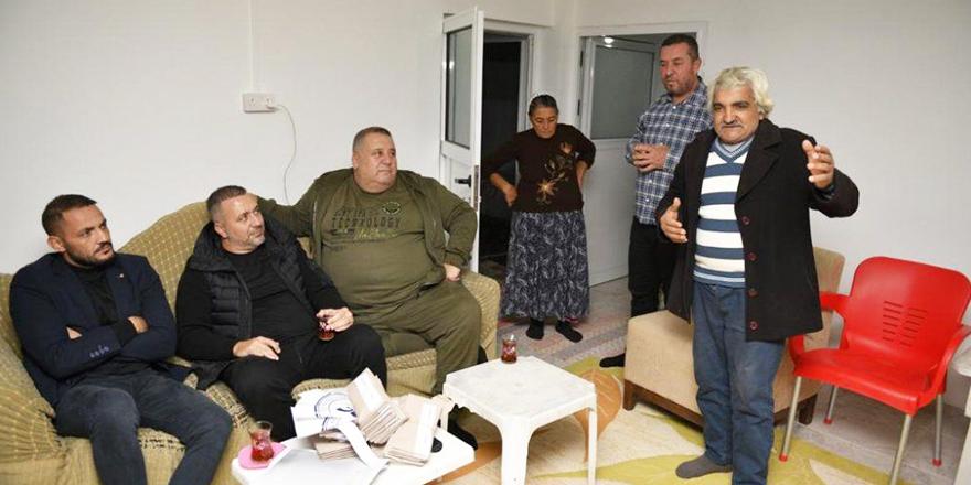 Falyalı'dan Derinceli Polat ailesine yardım eli