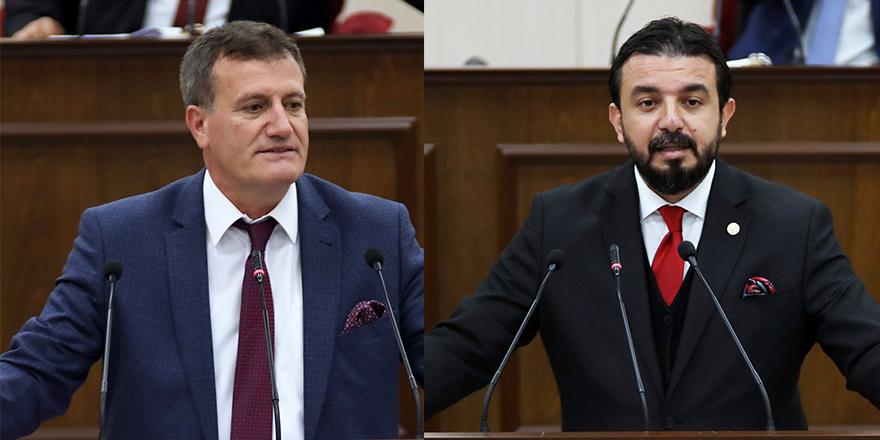 """Arıklı ve Zaroğlu arasında """"Lefkoşa İlçe Başkanı kim olacak? tartışması!"""