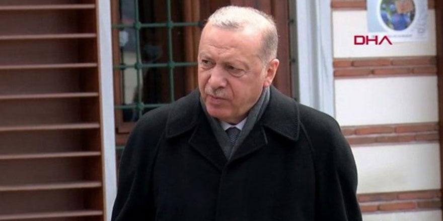 """Erdoğan: """"Kuzey Kıbrıs, Türkiye'deki uygulamalar neyse bunları safhasına geçirmek durumundadır"""""""
