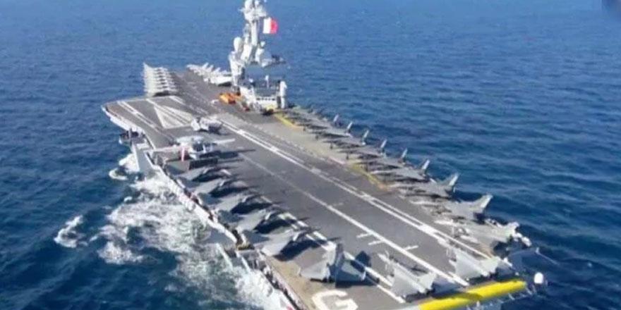 """Fransız Uçak Gemisi """"Charles De Gaulle"""" Güney Kıbrıs'Ta"""