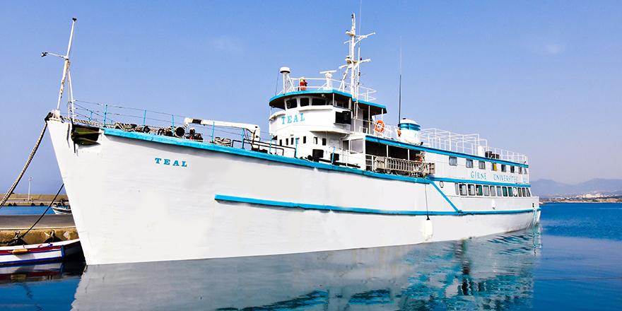 Girne Üniversitesi'ne ait TEAL gemisi, müze oluyor