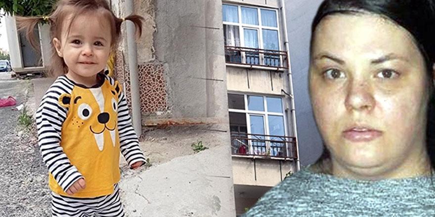 2 yaşındaki kızını pencereden atarak öldürdü