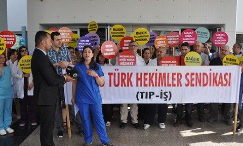 """""""Kıbrıs Türk hekim camiası için oldukça üzücü bir hal aldı"""""""
