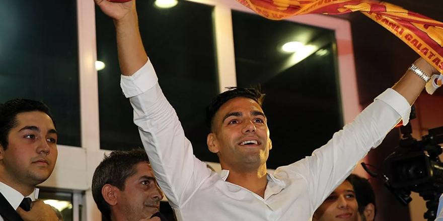 Galatasaray, Kolombiyalı futbolcu Radamel Falcao ile yollarını ayırdı