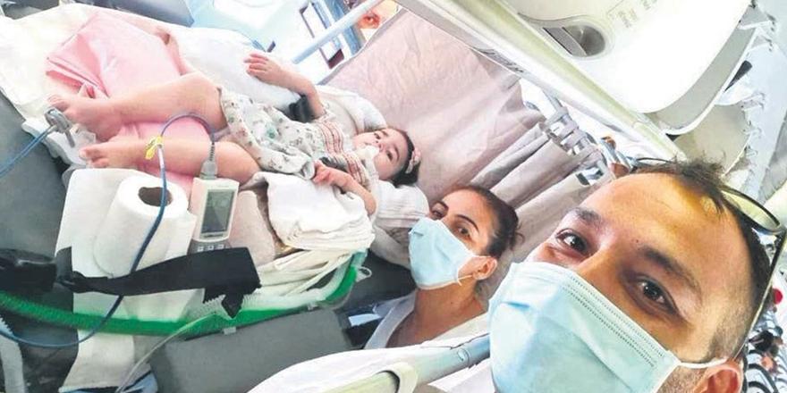 SMA hastası Asya'nın tedavi masrafları karşılanıyor