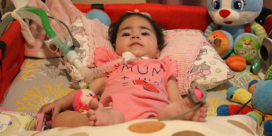 Asya bebeğin tedavisine başlandı