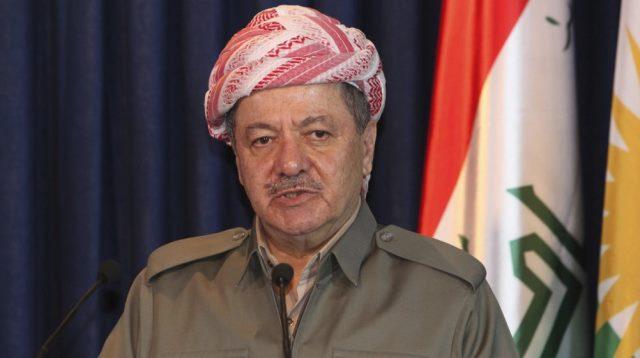 """Barzani: """"Referandumun Türkiye için bir tehdit değil"""""""