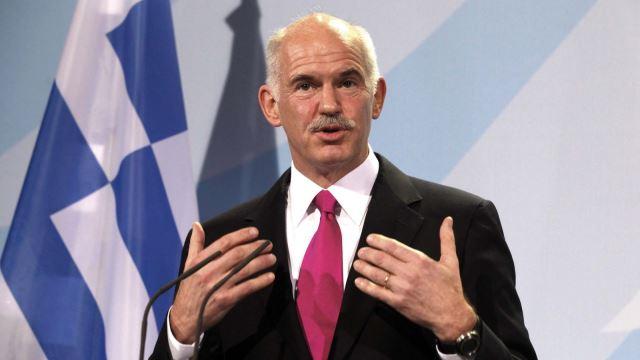 "Papandreu'dan Rum Siyasetçilere tepki: ""Sizinki sahte milliyetçilik"""