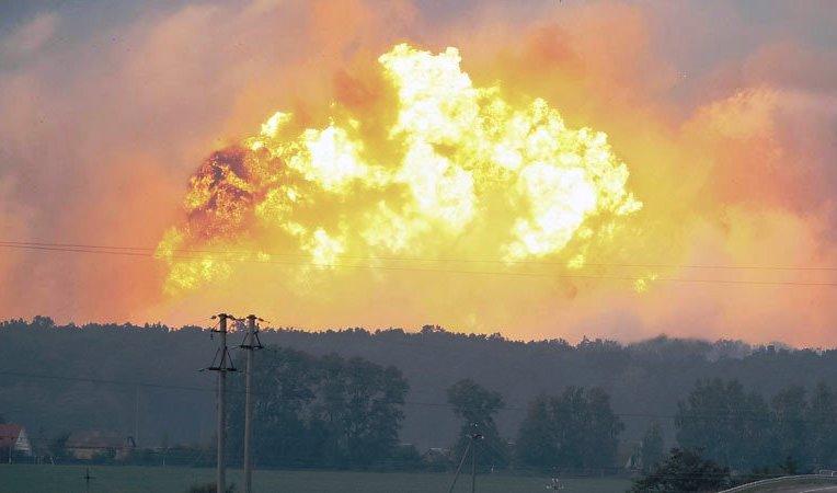 Ukrayna'da büyük patlama: 30 bin kişi tahliye ediliyor