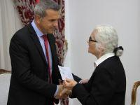 Uluçay, Kanser Hastalarına Yardım Derneği Heyetini kabul etti