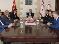Cumhurbaşkanlığı'ndaki siyasi partiler toplantısı 6 partinin temsilcilerinin katılımıyla sürüyor