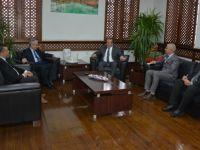 Büyükelçi Kanbay, Bakan Ataoğlu'nu ziyaret etti