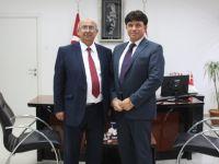 Milli Eğitim ve Kültür Bakanı Özyiğit, KKTC Bavyera Fahri Kültür Ataşesi Hilmi'yi kabul etti
