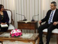 Meclis Başkanı Uluçay, Evrensel Hasta Hakları Derneği Yönetimini kabul etti