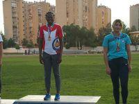 DAÜ'nün olimpik atletinden çifte Türkiye şampiyonluğu