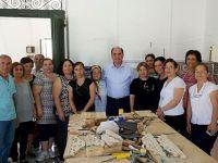 CTP Değirmenlik Belediye Başkan Adayı Karavezirler Cihangir Köy Kadın Kursunu ziyaret etti