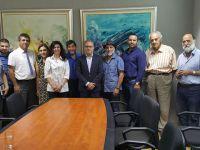 İki Toplumlu Barış İnisiyatifi DİSİ'yi ziyaret etti