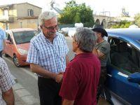 CTP Güzelyurt Belediye Başkan adayı Bican Bostancı'yı ziyaret etti