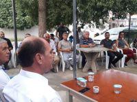 CTP Değirmenlik Belediyesi Başkan adayı Karavezirler Gaziköy'ü ziyaret etti