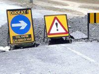 Sürücülerin dikkatine.. Trafiğe kapalı yol!