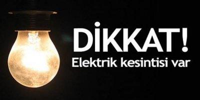 Gazimağusa ve Karaoğlanoğlu'nda yarın elektrik kesintisi olacak