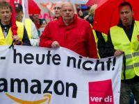Almanya'da Amazon işçileri greve gitti