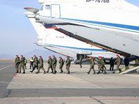 Suriye'deki görevlerini başarıyla tamamlayan 100 Rus askeri polis evlerine döndü